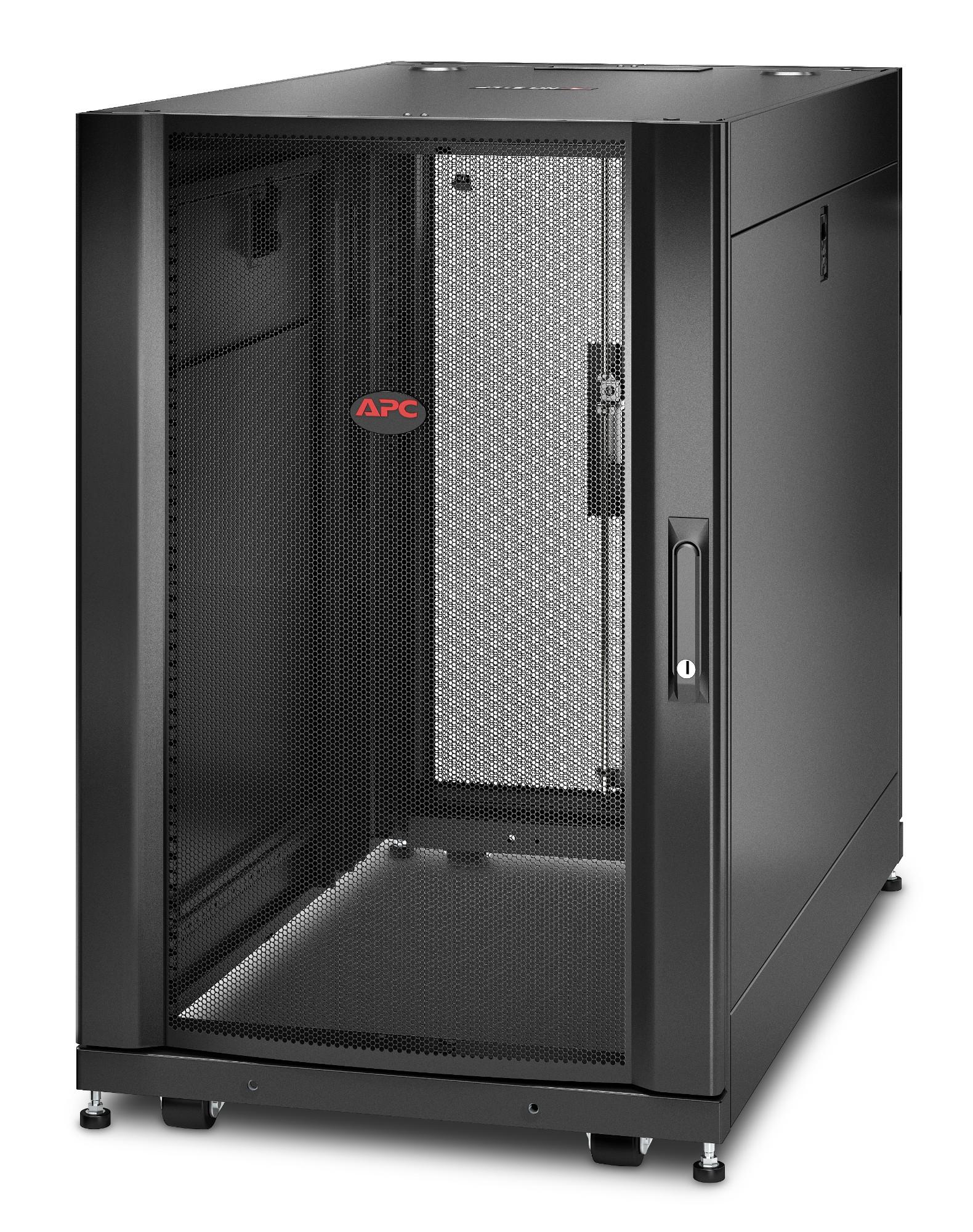 APC NetShelter SX AR3106 18U 600mm(b) x 1070mm(d) Serverrack inclusief zijkanten