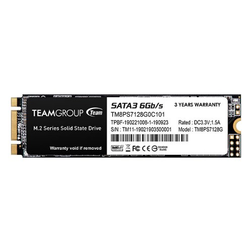 Team Group MS30 M.2 SATA SSD internal solid state drive 128 GB Serial ATA III