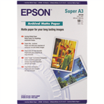 Epson Archival Matte Paper, DIN A3+, 189g/m², 50 Sheets printing paper