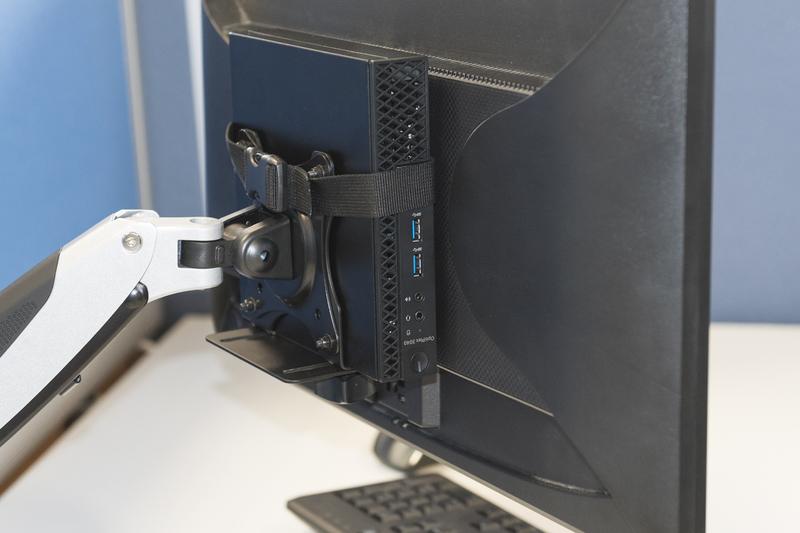 Digitus DA-90360 Clamp Black flat panel desk mount