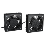 Tripp Lite SmartRack Wall-Mount Roof Fan Kit - 2-120V high-performance fans; 210 CFM; 5-15P plug