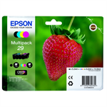 Epson C13T29864012 (29) Ink cartridge multi pack, 5,3ml + 3x3,2ml, Pack qty 4