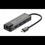 Dynamode C-TC-DK-HDMI notebook dock/port replicator Wired USB 3.2 Gen 1 (3.1 Gen 1) Type-C Black
