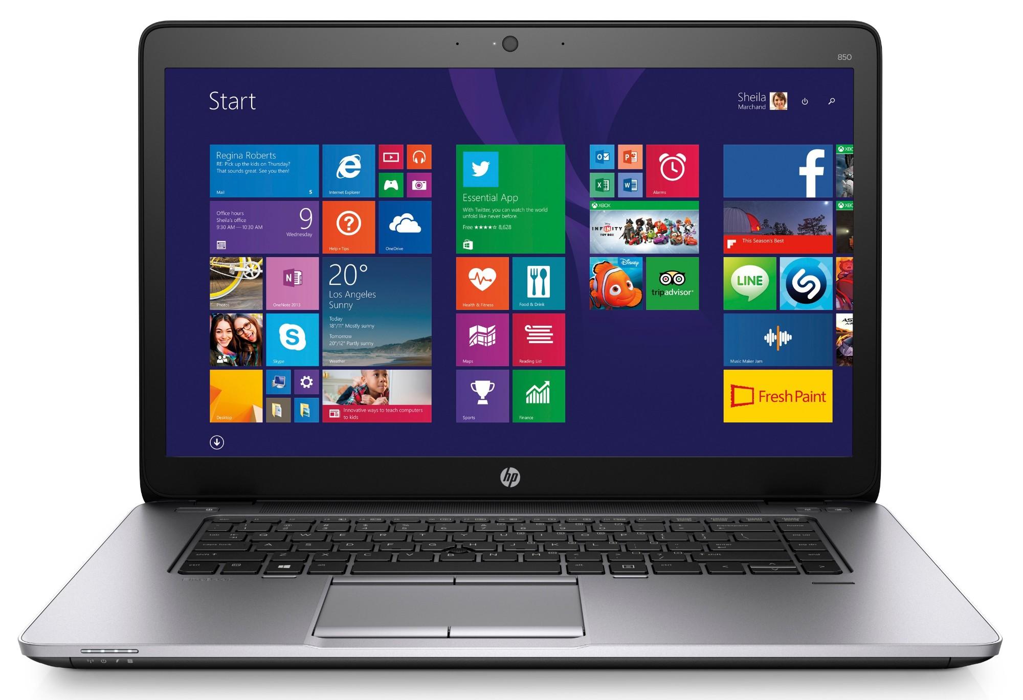 T1A HP EliteBook 850 G2 Refurbished Notebook 39.6 cm (15.6