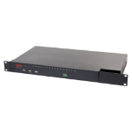APC KVM0216A KVM switch Rack mounting Black