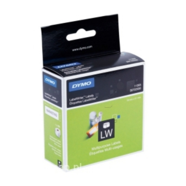 DYMO 11355 (S0722550) DirectLabel-etikettes, 19mm x51mm