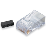 Black Box FM860-100PAK RJ-45 Transparent wire connector