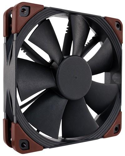 Noctua NF-F12 industrialPPC-2000 IP67 PWM Computer case Fan 12 cm Black, Brown