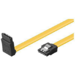 Microconnect SAT15005A1C6L 0.5m Yellow SATA cable