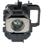 Epson Generic Complete Lamp for EPSON H337A projector. Includes 1 year warranty.