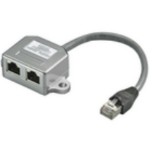 Microconnect MPK421 cable interface/gender adapter RJ45 2x RJ45 Grey