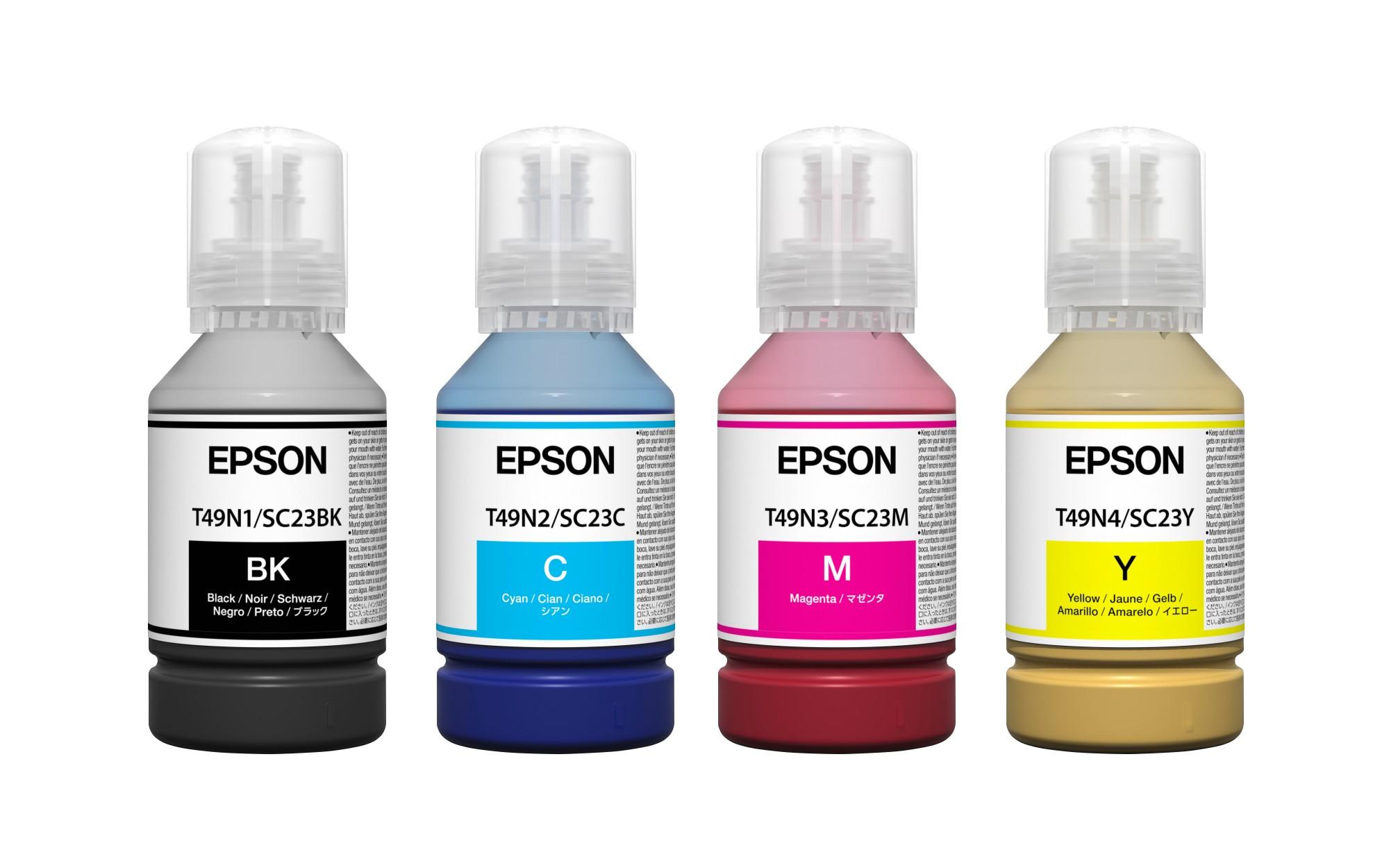 Epson C13T49H400 (T49H) Ink cartridge yellow, 140ml