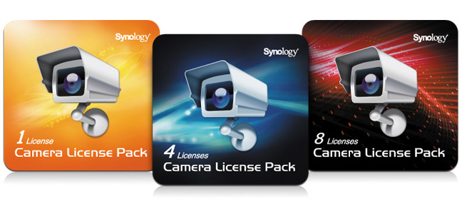 Synology 4 cam Lic Pack