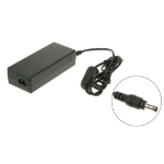 2-Power AC Adapter 75W 15-17v 4.3A inc. mains cable