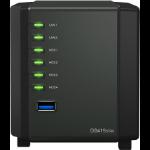 Synology DiskStation DS419slim Ethernet LAN Tower Black NAS
