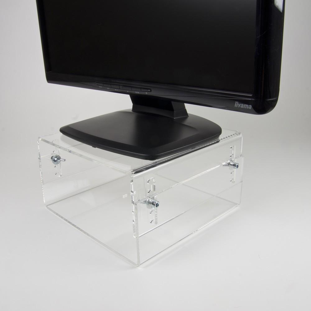 Newstar LCD/CRT monitor riser [acrylic]