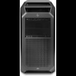 HP Z8 G4 Intel® Xeon® 4108 64 GB DDR4-SDRAM 1000 GB SSD Black Tower Workstation