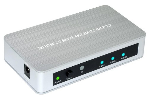 Microconnect MC-HMSW301B video switch HDMI