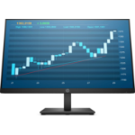 "HP P244 LED display 60.5 cm (23.8"") 1920 x 1080 pixels Full HD Flat Black"