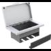 Vision TC3-TILTPU Desk Cable box White 1pc(s) cable organizer