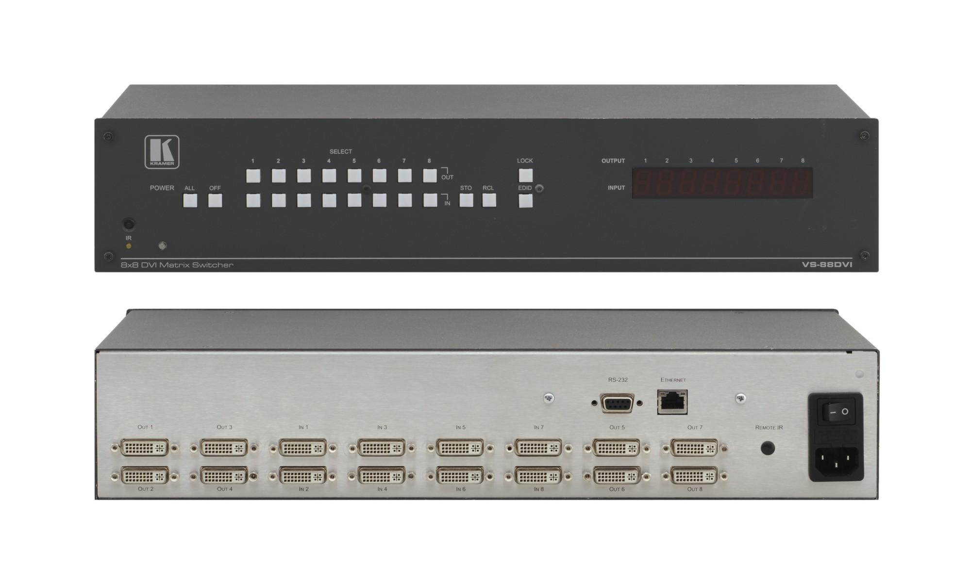 Kramer Electronics VS-88DVI DVI video switch