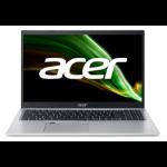 "Acer Aspire 5 A515-56G-50JV Notebook 39.6 cm (15.6"") 1920 x 1080 pixels 11th gen Intel® Core™ i5 8 GB DDR4-SDRAM 512 GB SSD NVIDIA GeForce MX450 Wi-Fi 6 (802.11ax) Windows 10 Home Silver"