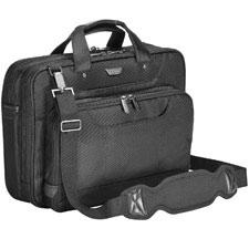 Targus 14-Inch Corporate Traveller Toplaod Laptop Case - Black (CUCT02UA14EU)