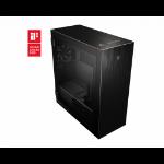 MSI MPG SEKIRA 500G Full Tower Gaming Computer Case 'Black with Gold Trim, 2x 200mm + 1x120mm Fans, USB Type-C, Tempered Glass Panel, E-ATX, ATX, mATX, mini-ITX'