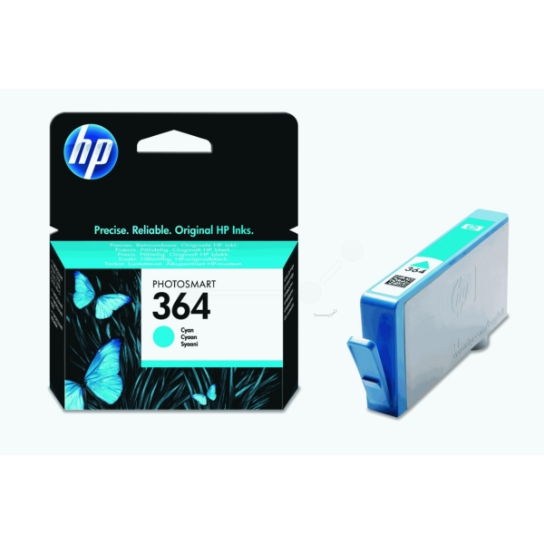 HP CB318EE (364) Ink cartridge cyan, 300 pages, 3ml