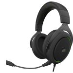 Corsair HS50 PRO STEREO Headset Head-band Black,Green
