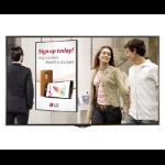 """LG 49XS1D-B signage display 124.5 cm (49"""") LED Full HD Digital signage flat panel Black"""