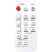 Vision CS-1800P RC IR Wireless Press buttons Silver remote control