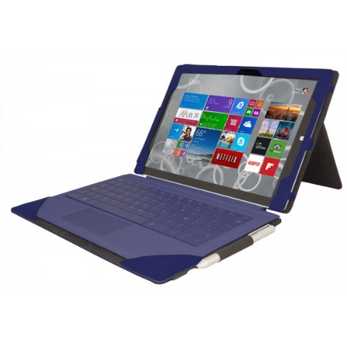 Urban Factory Elegant Folio Case for Microsoft Surface 3, Purple