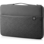 "HP Carry Sleeve 15 notebook case 39.6 cm (15.6"") Sleeve case Gray"