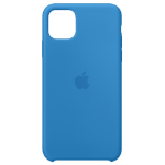 Apple iPhone 11 Pro Max Silicone Case - Surf Blue