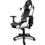 AEROCOOL ThunderX3 TGC12 Series Gaming Chair - Black/White