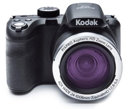 "Kodak Astro Zoom AZ422 Bridge camera 20 MP CCD 5152 x 3864 pixels 1/2.3"" Black"