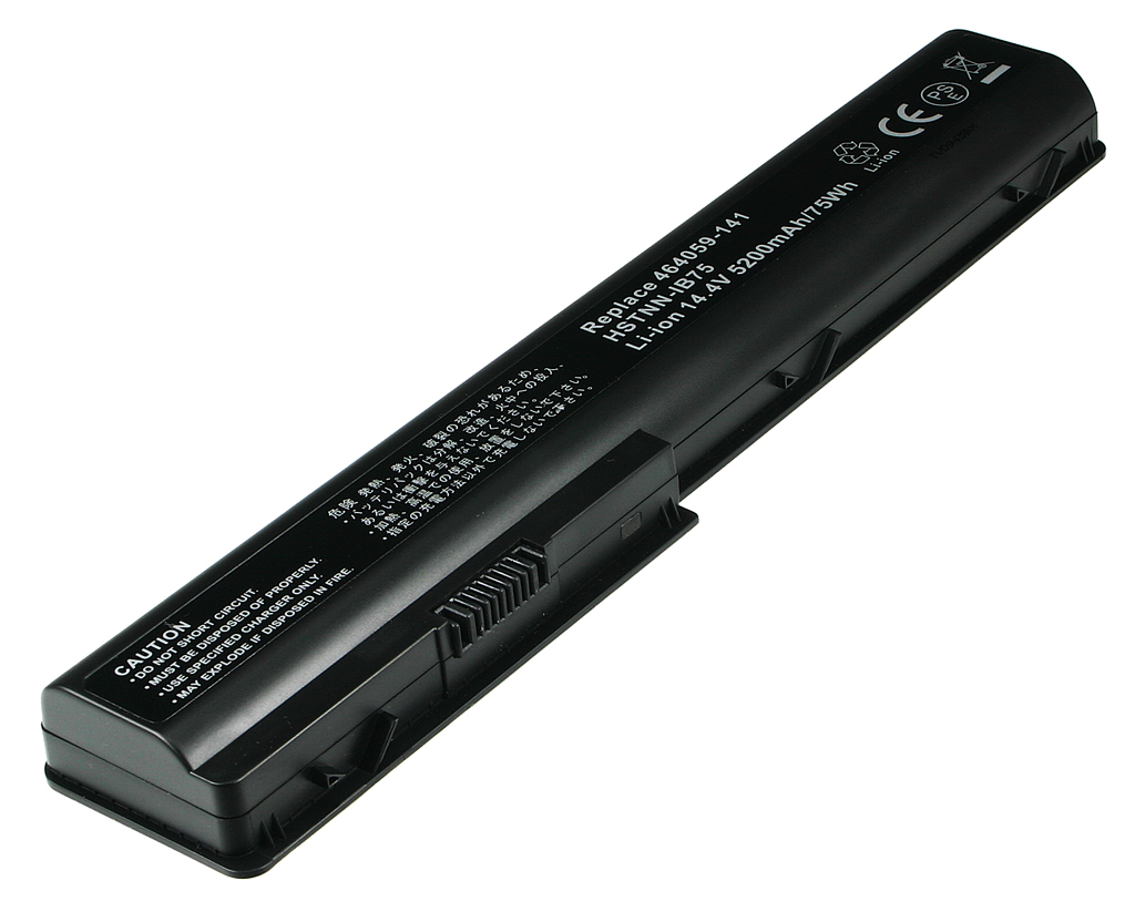 2-Power 14.4v, 8 cell, 74Wh Laptop Battery - replaces 497705-001