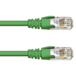 FDL 1M CAT.5e UTP PATCH CABLE - GREEN
