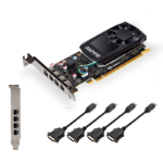 PNY VCQP620DVIV2-PB graphics card Quadro P620 V2 2 GB GDDR5