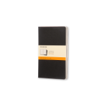 Moleskine QP316 80sheets Black writing notebook