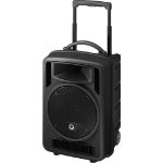 Monacor TXA-1022CD Public Address (PA) system 120 W Freestanding Public Address (PA) system Black