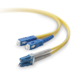 Belkin F2F802L7-20M 20m Yellow fiber optic cable