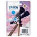 Epson C13T02W24010 (502XL) Ink cartridge cyan, 470 pages, 6ml