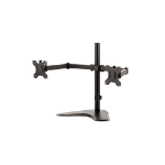 "Fellowes 8043701 32"" Freestanding Black flat panel desk mount"