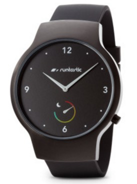 runtastic Moment Basic Bluetooth Black sport watch