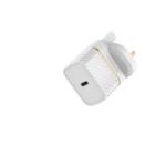 OtterBox UK Wall Charger 18W - 1X USB-C 18W USB-PD, Cloud Dust White