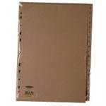 White Box WB INDEX A4 A-Z 20PART BUFF
