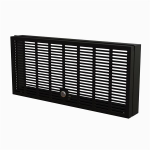 """StarTech.com 5U Rack Mount Security Cover - Hinged Locking Rack Panel/ Cage/Door for Physical Security/ Access Control of 19"""" Server Rack & Network Cabinet - Assembled w/Mounting Hardware"""