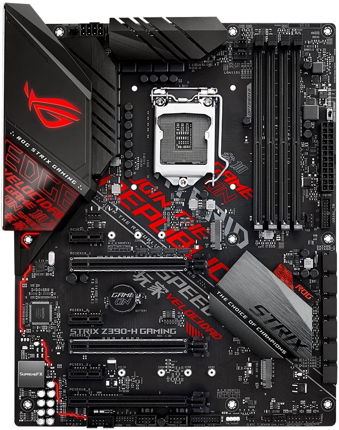 ASUS ROG STRIX Z390-H GAMING motherboard LGA 1151 (Socket H4) ATX Intel Z390